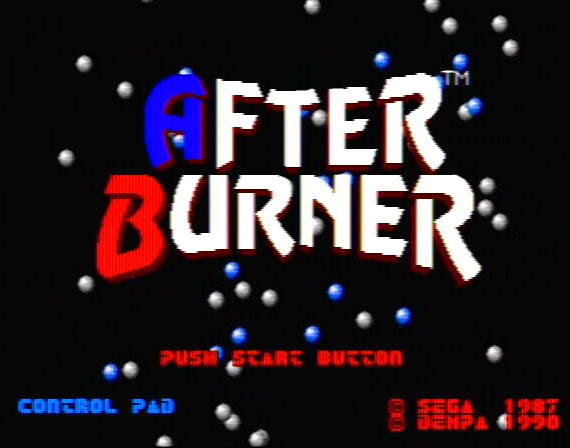 After Burner Genesis 1 32X Composite - 25621 Colors