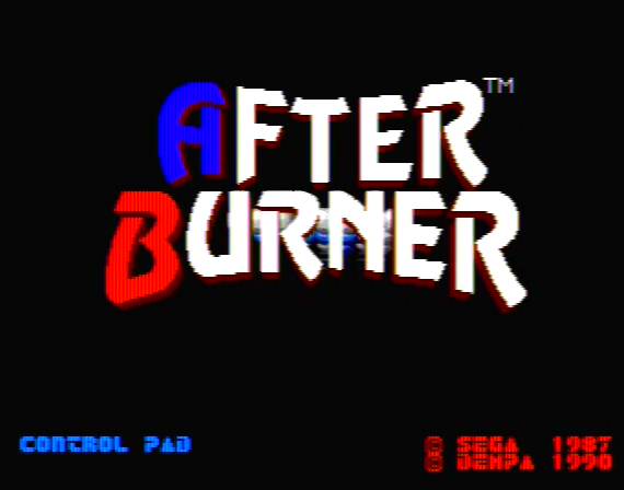 After Burner Genesis 1 32X Composite - 17898 Colors