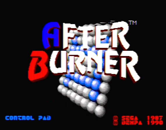 After Burner Genesis 1 32X Composite - 44815 Colors
