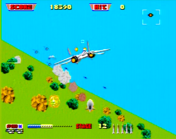 After Burner Genesis 1 32X Composite - 36056 Colors