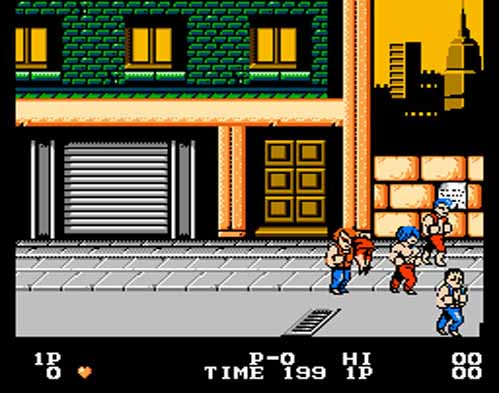 Double Dragon NES - 1988