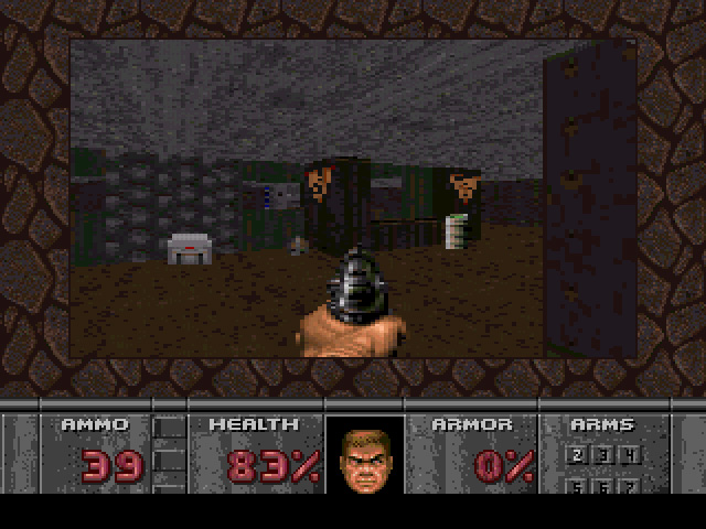 Doom 32X Emulation Shot