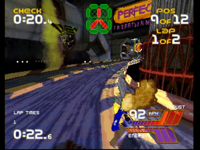 Wipeout 2097 - Saturn - S-Video