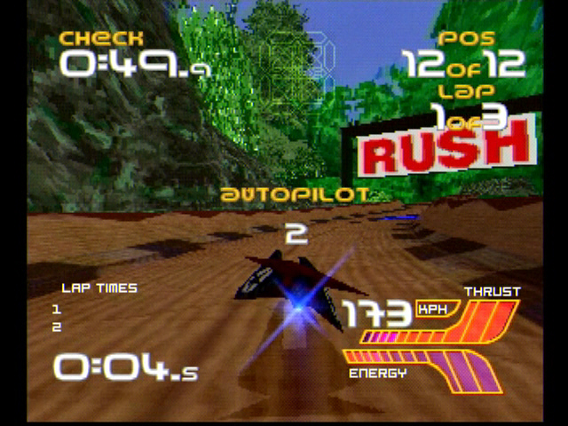 Wipeout XL - PS1 - S-Video