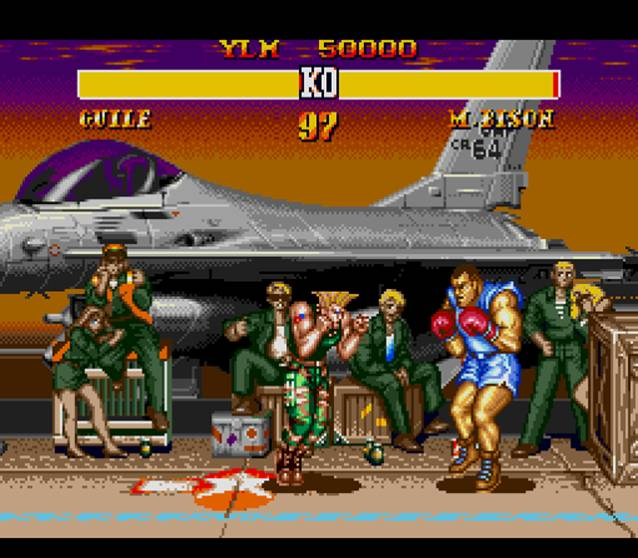 Street Fighter II SCE - Genesis - Emulation Shot 2007