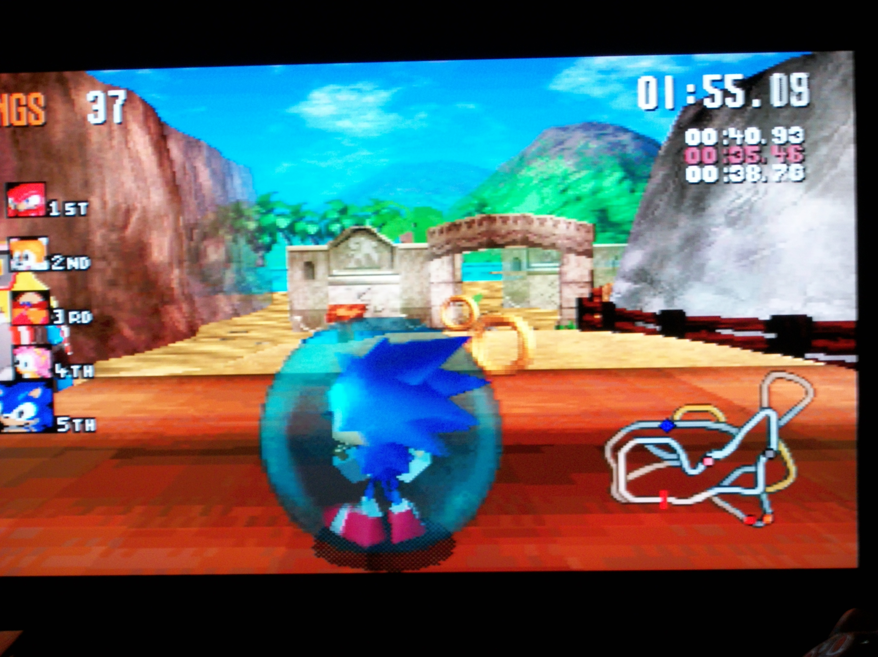 Sega Saturn Transparency - RGB to HDMI 720p Screen Capture