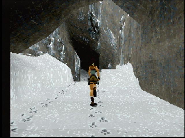 Tomb Raider - Saturn - S-Video