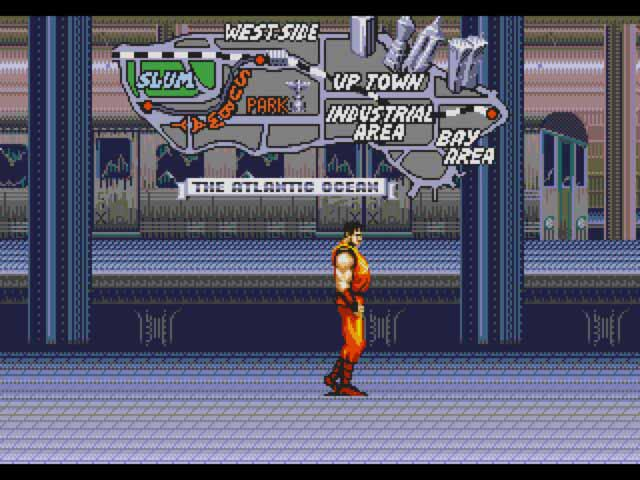 Final Fight- Sega CD - Emulation Shot - 2004 - Blur Filter