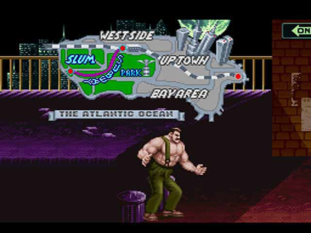 Final Fight - SNES - Emulation Shot - 2004