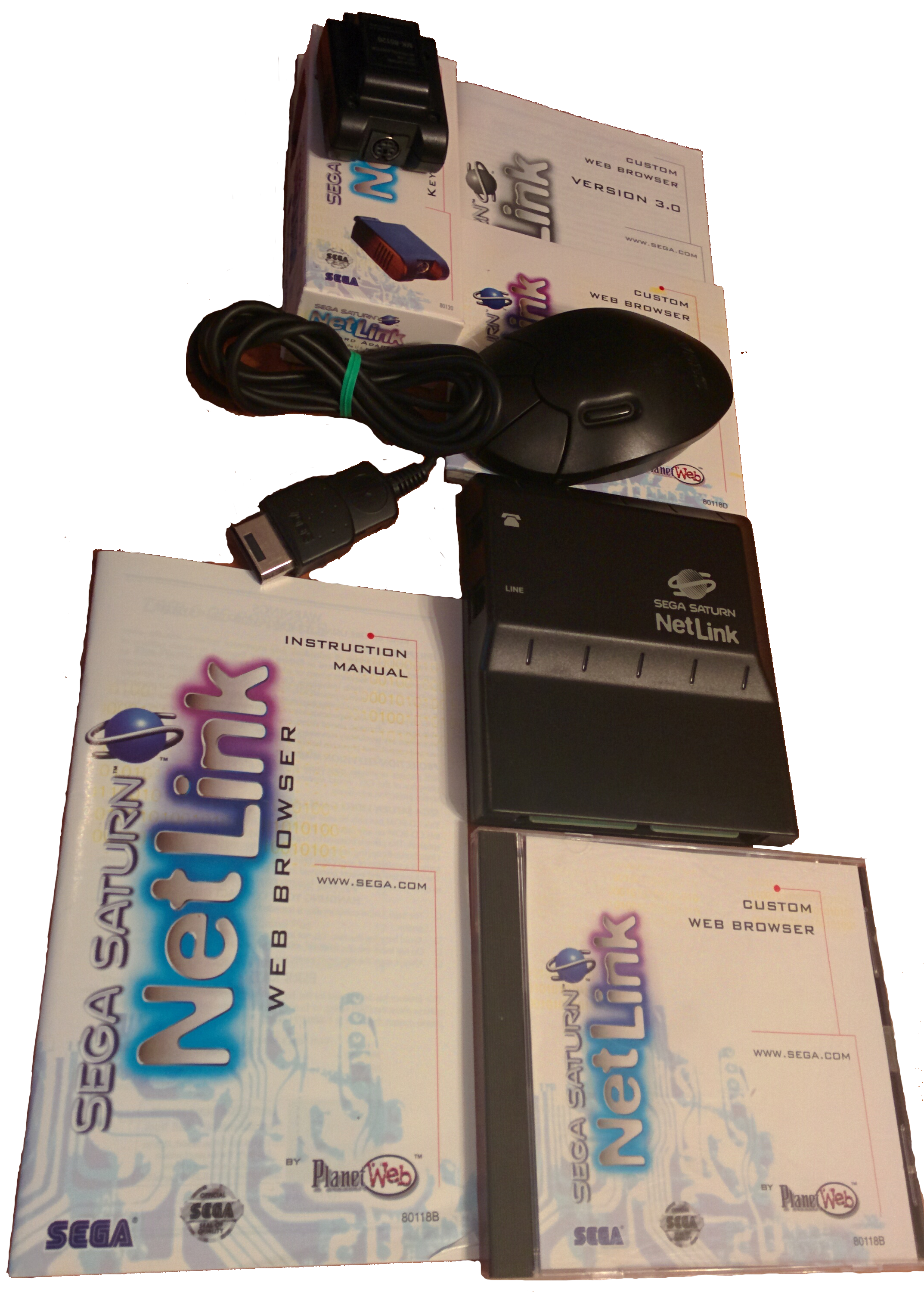Boxed Saturn Netlink
